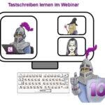 Tastschreiben lernen im Webinar, online