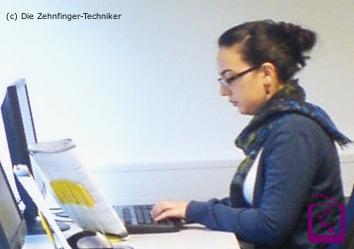 Tastschreiben lernen - Tastschreiben trainieren - online-Prüfungen
