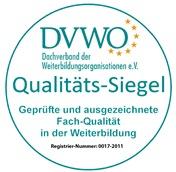 DVWO Qualitäts-Siegel - Tastschreiben lernen mit geprüfter Qualität